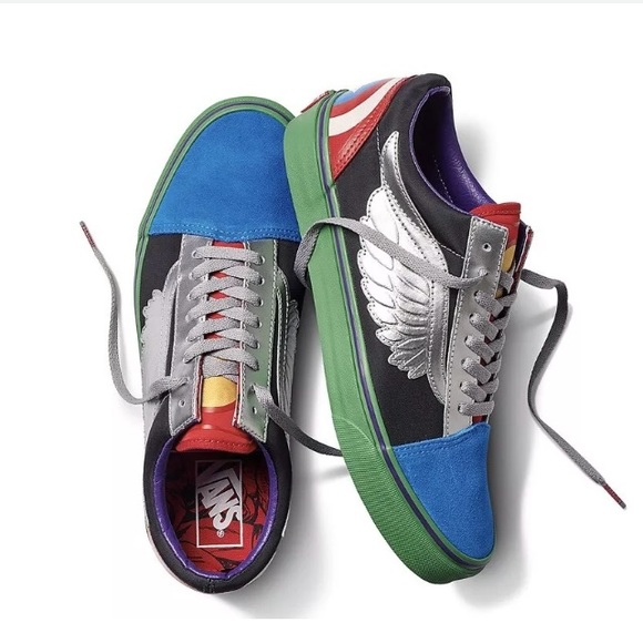3fe4b38b14 Vans x Marvel Old School Avengers Sneakers